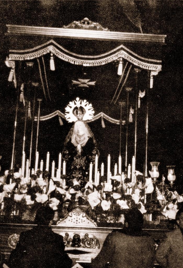Virgen de la Soledad Astorga 1977